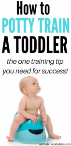 One potty training tip