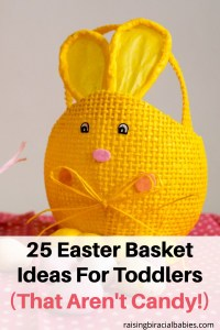 easter basket ideas for toddlers | easter basket ideas that aren't candy | 2 year old | 3 year old | 4 year old | easter basket ideas that aren't candy
