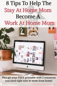sahm to wahm | become a work at home mom | how to become a work at home mom | how to work at home | work at home mom |