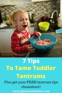 Handle Tantrums   tips for toddler tantrums   positive parenting   gentle parenting   toddler behavior   dealing with toddler tantrums  