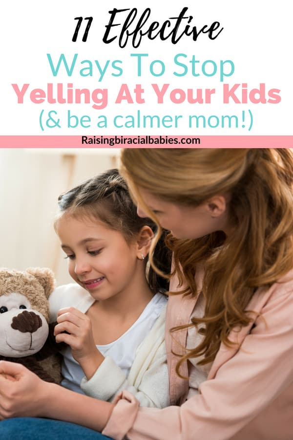 Do you struggle to get your kids to listen without yelling? Or do you find yourself quick to become angry and yell at your kids? You need to read these effective tips to help you stop yelling at your kids! | parenting | raising kids | motherhood | stop yelling |