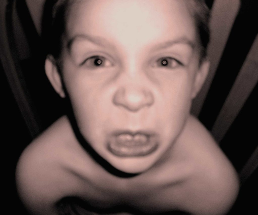 """Why I use the word """"rage"""" and not """"tantrum"""" for my child with developmental trauma"""