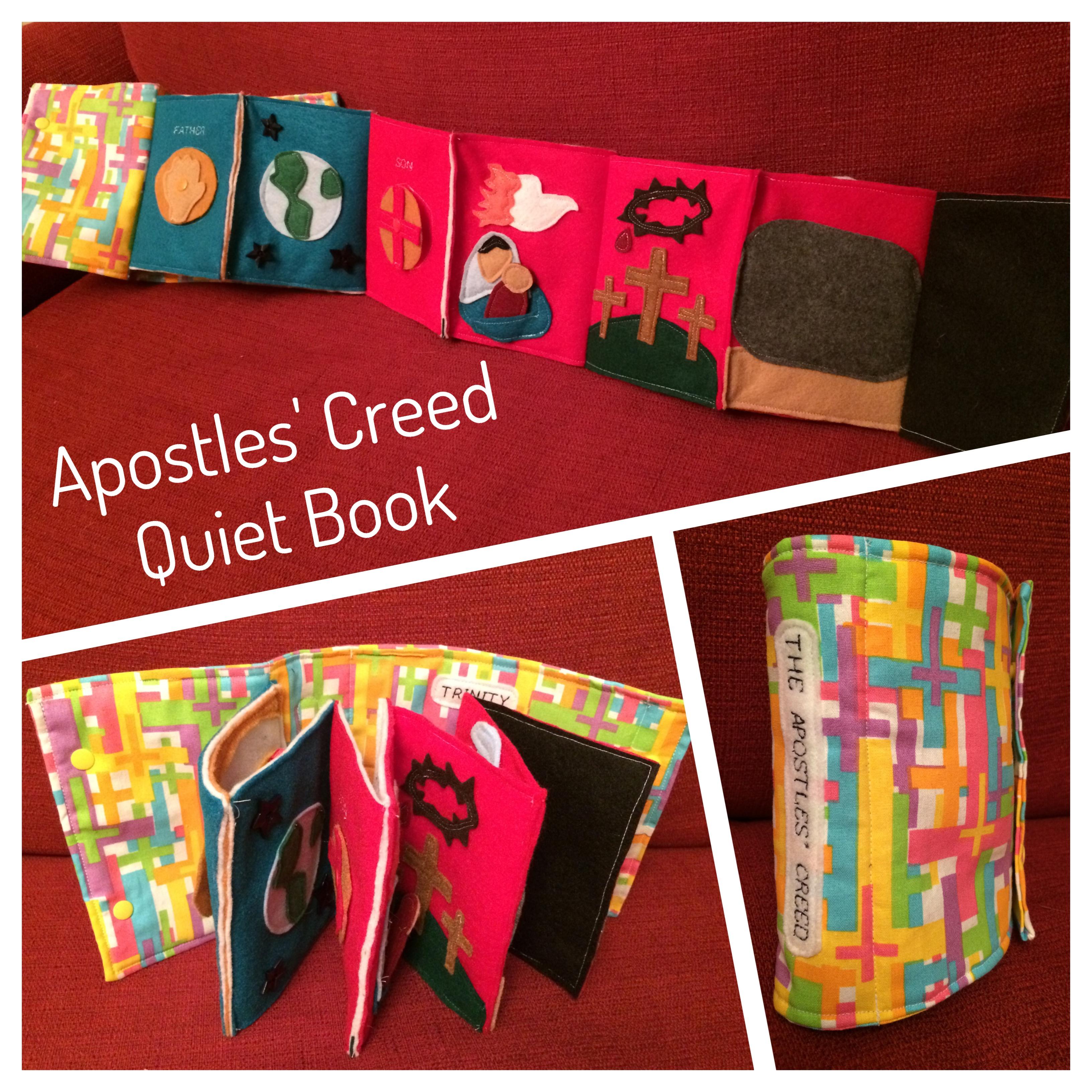 Apostles Creed For Kids