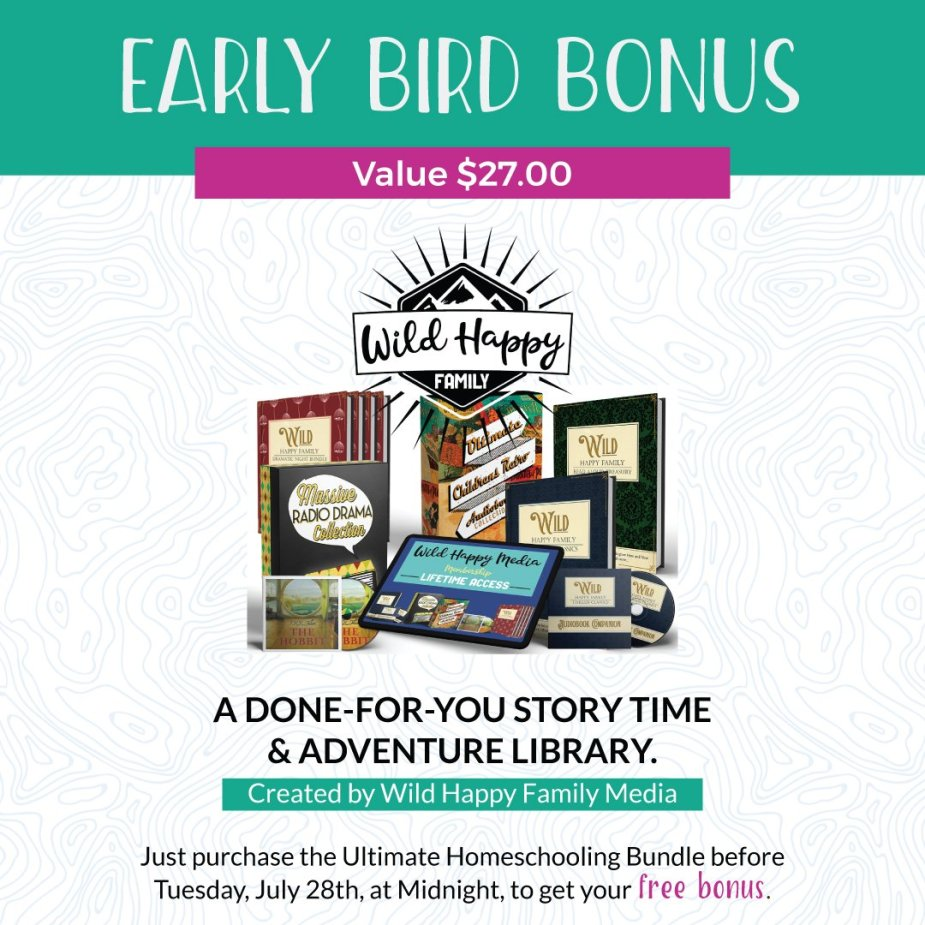 Ultimate Homeschooling Bundle early bird bonus