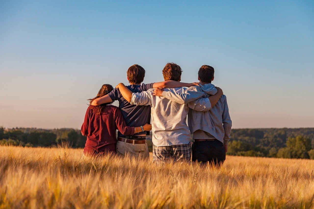young people, group, friends-3575167
