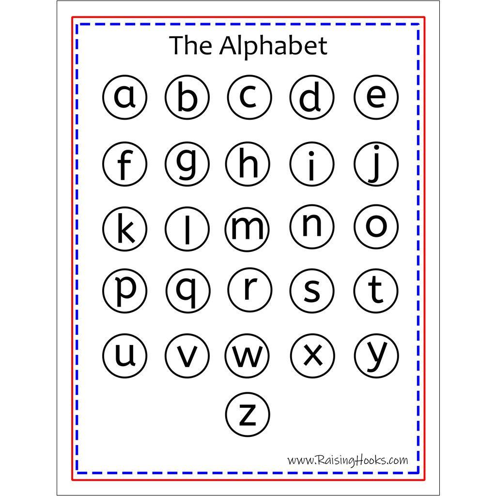 Alphabet Worksheet Turkey