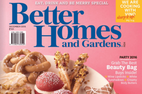 Better Homes and Gardens December 2016 Issue