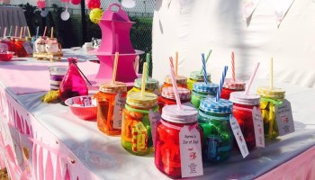 Outdoor Birthday Party And Baby Shower Decoration Ideas