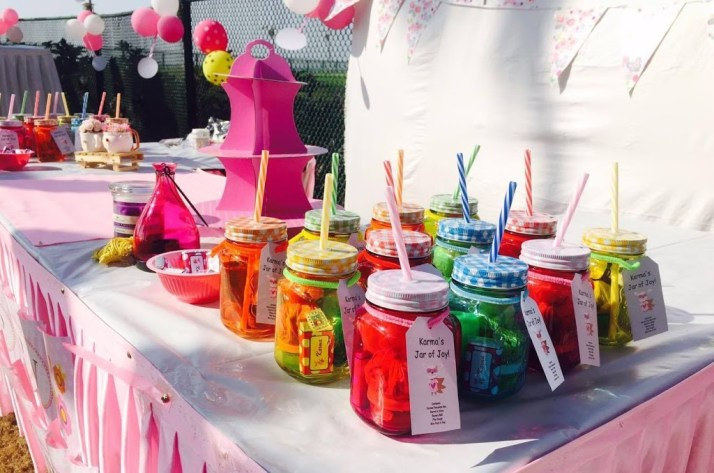 Mason Jar Birthday Return Gifts Party Favours Ideas