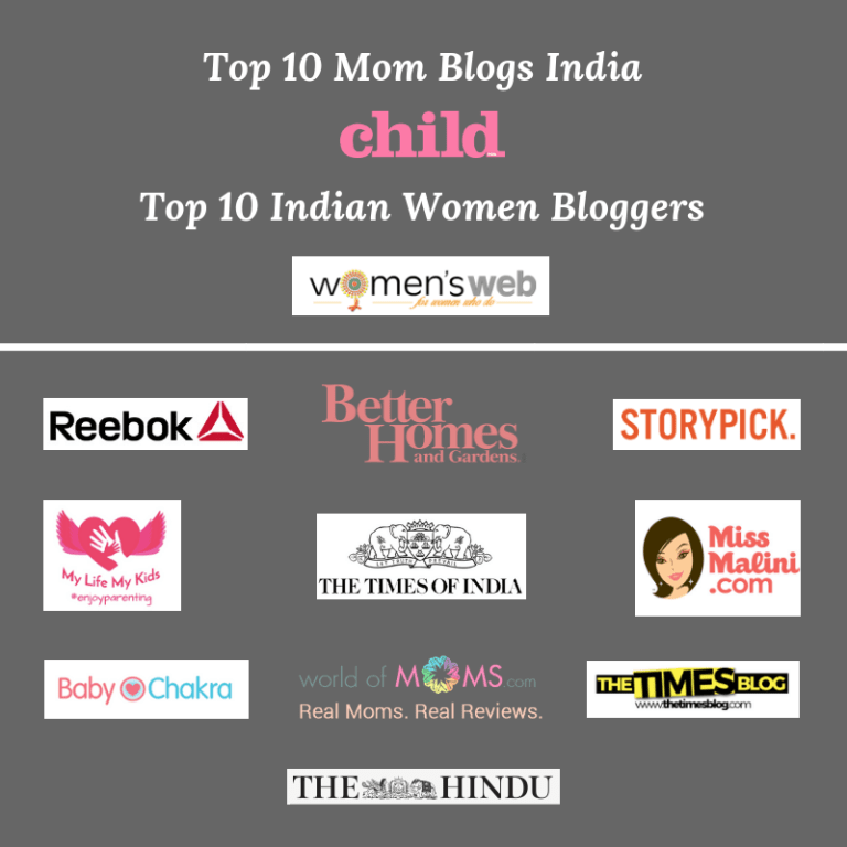 Top 10 Mom Blogs India