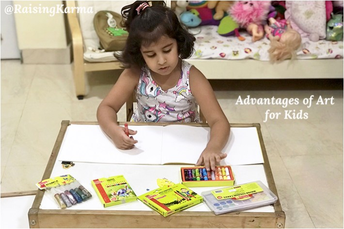Advantages of Art for Kids – Start Early!
