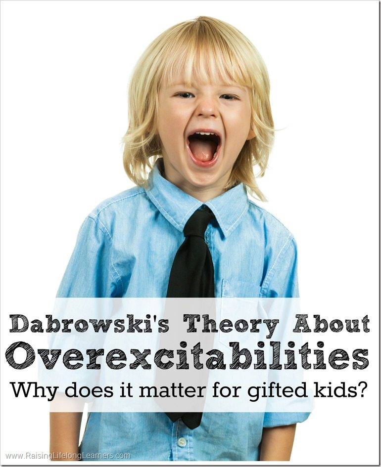 Overexcitabilities and Why They Matter for Gifted Kids