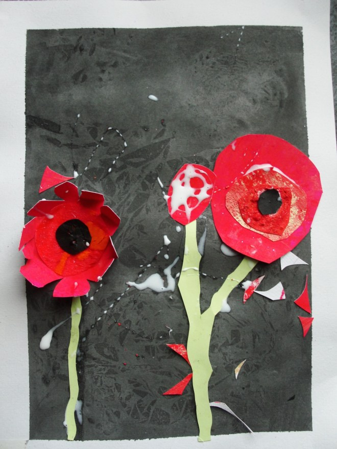 Poppies by Elianna