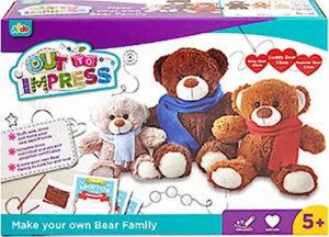 Christmas Gift Guide to Keep Their Creativity Sparked - keepsake bears