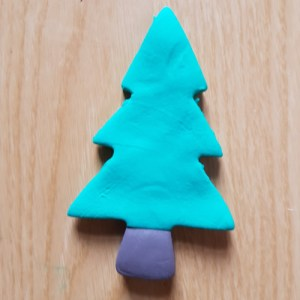 How to Make Easy Jumping Clay Tree Decorations. - Tree 4