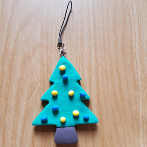 How to Make Easy Jumping Clay Tree Decorations. - Tree 7