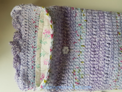 How to make a quick and easy pouch liner for a phone or tablet step 8 - 2