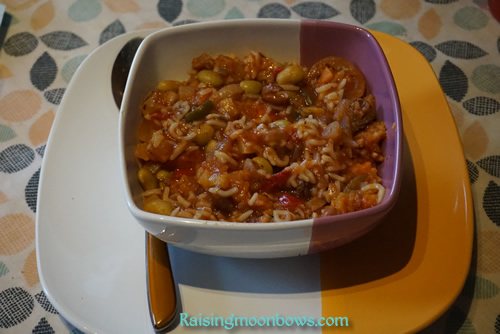 Healthy and Easy Thick Minestrone Recipe plate