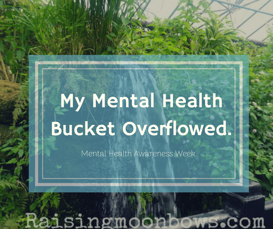 My Mental Health Bucket Overflowed - FI