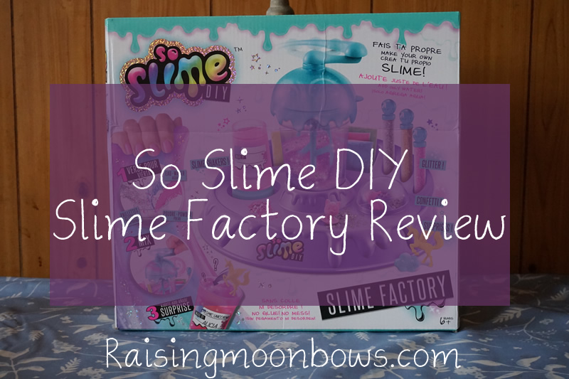 So Slime DIY Slime Factory Review - Feature Image