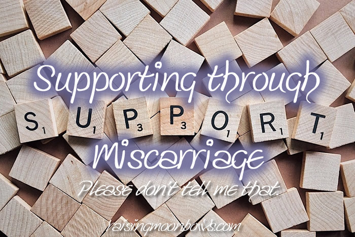 Supporting through miscarriage - fi