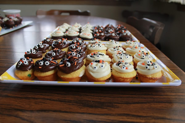 Halloween cooking - cupcakes