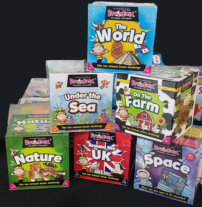 Kids Creative Gift idea Brainbox selection
