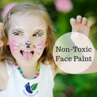 Non-Toxic Face Paint With Natural Ingredients