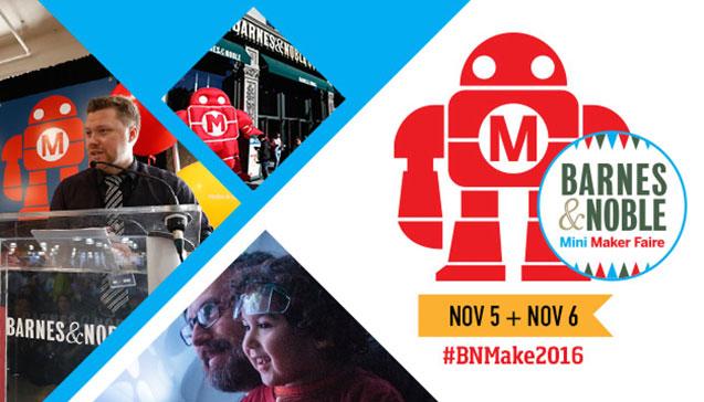 Barnes & Noble Maker Faire