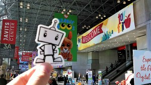 NerdBot arrives at Toy Fair_2-18-17