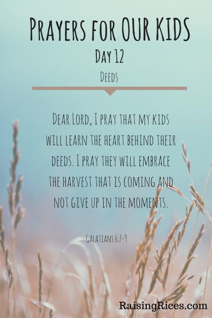 April - Prayer day 12