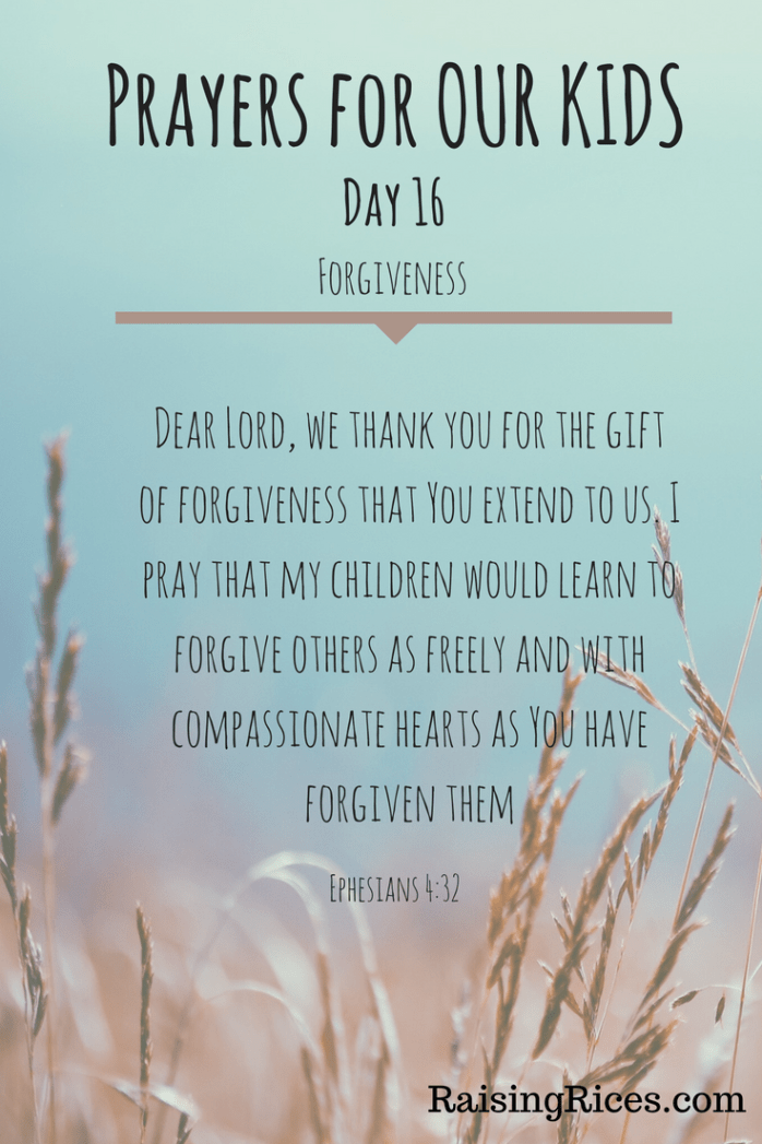 April - Prayer day 16