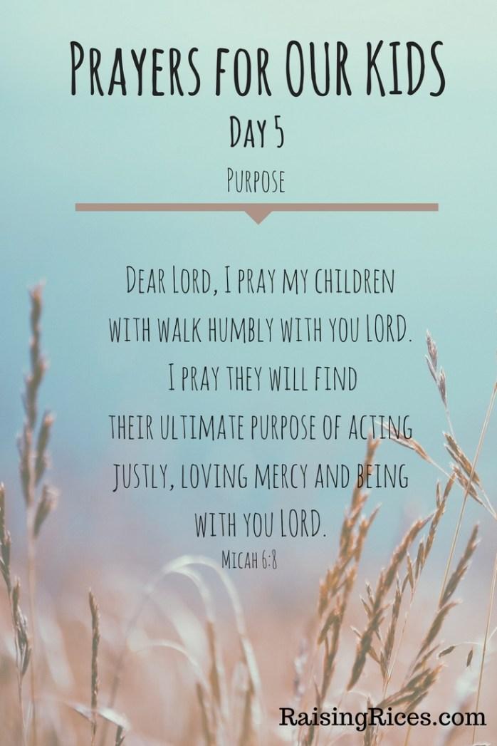 April - Prayer day 5
