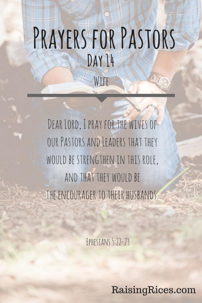 Prayers for Pastors Day 14