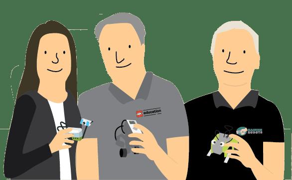 TEAM - Raising Robots - LEGO Mindstorms EV3 & WeDo
