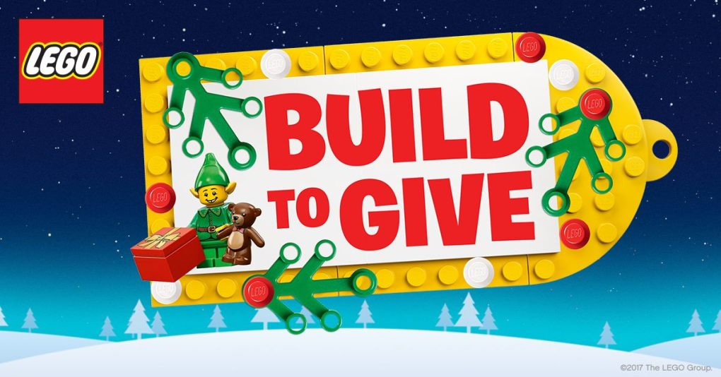 Build to give - 'Build To Give' is on!