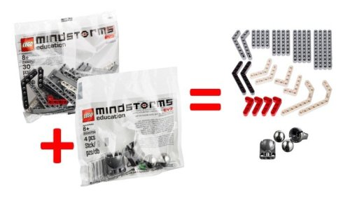 Slide1 2 - Robot Repair Kit for Mindstorms EV3 (includes 2 Mindstorms EV3 replacement packs)