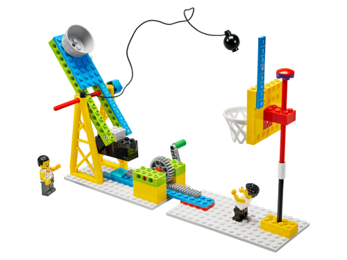 45401 Label ModDetail 44 - LEGO® Education BricQ Motion Essential Set (Primary) - with optional Personal Learning Kit