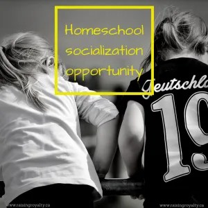 """The top frequently asked questions about homeschooling surround """"socialization"""". And homeschooling makes it easy to get kids involved!"""