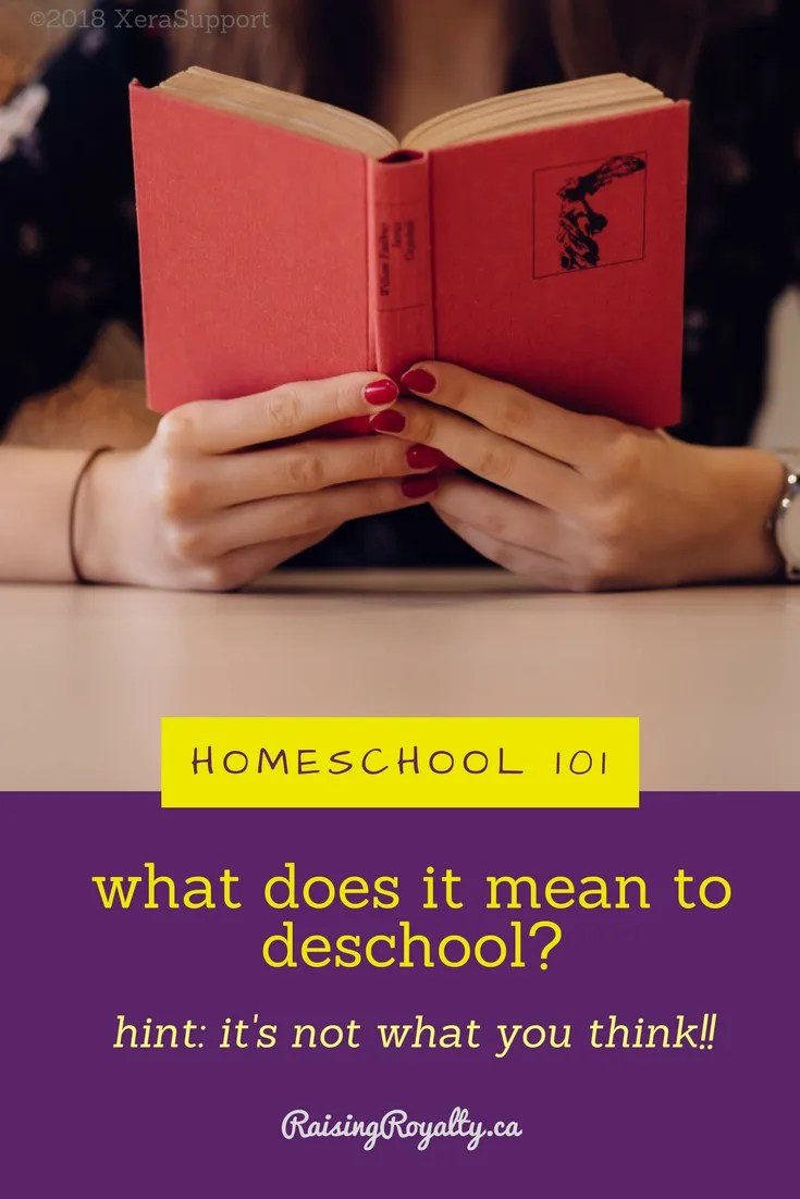 Homeschooling 101: What does it mean to deschool?  Like this? Pin it!