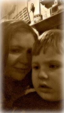 Johnny Ben & Mommy against the world!