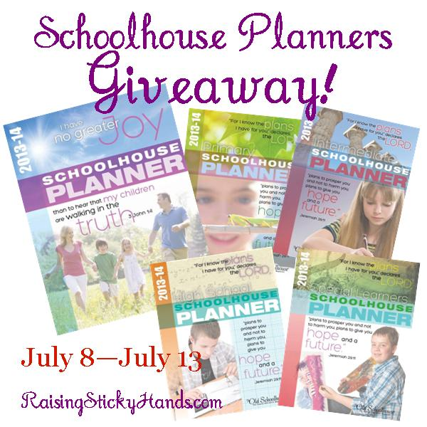 Schoolhouse Planners Giveaway