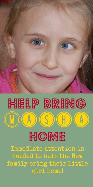The Girl Who Waits - Help Bring Masha Home