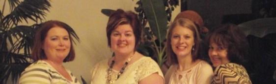 Angie (Me), Karen, Emily, & Judye