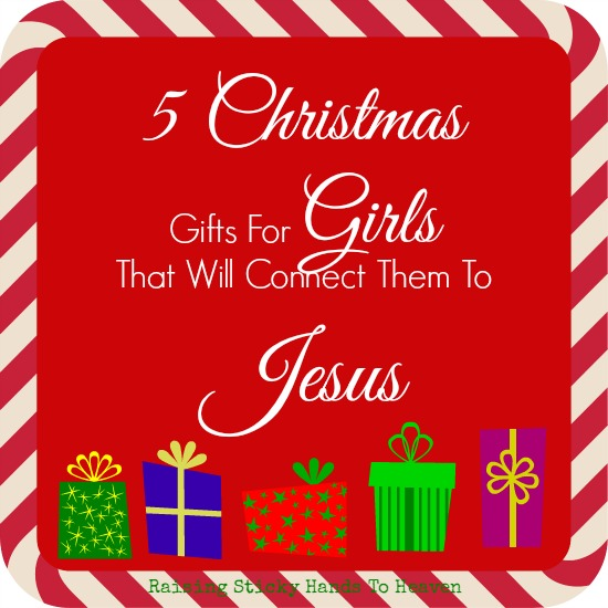 5 Christmas Gifts for Girls (that will connect them to Jesus)