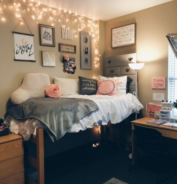 College Dorm Room Ideas For Girls Color Schemes