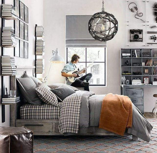 25 Super Cool Bedroom Ideas for Teen Boys - Raising Teens ... on Teenage Boy Room  id=66224