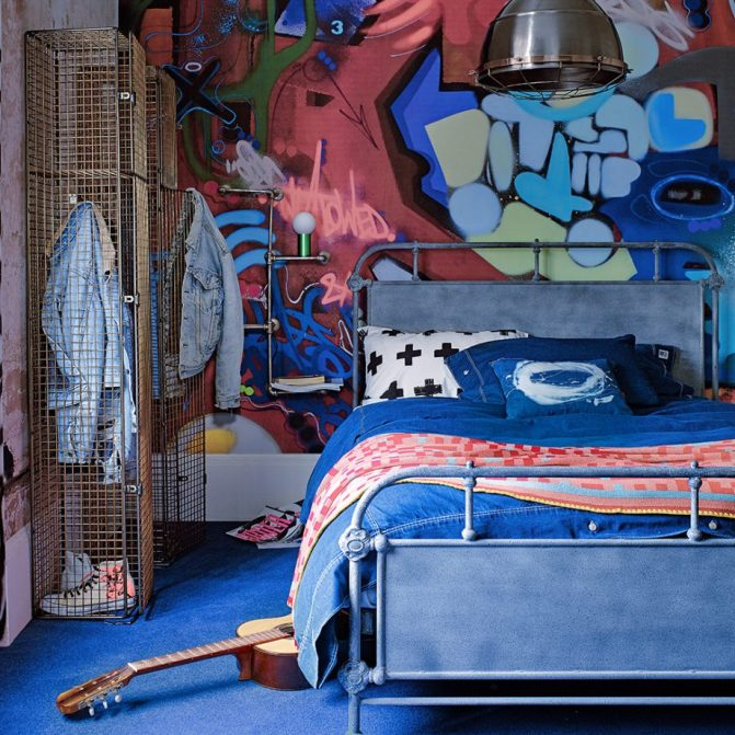 25 Super Cool Bedroom Ideas for Teen Boys - Raising Teens ... on Bedroom Ideas For Teenage Guys With Small Rooms  id=78397