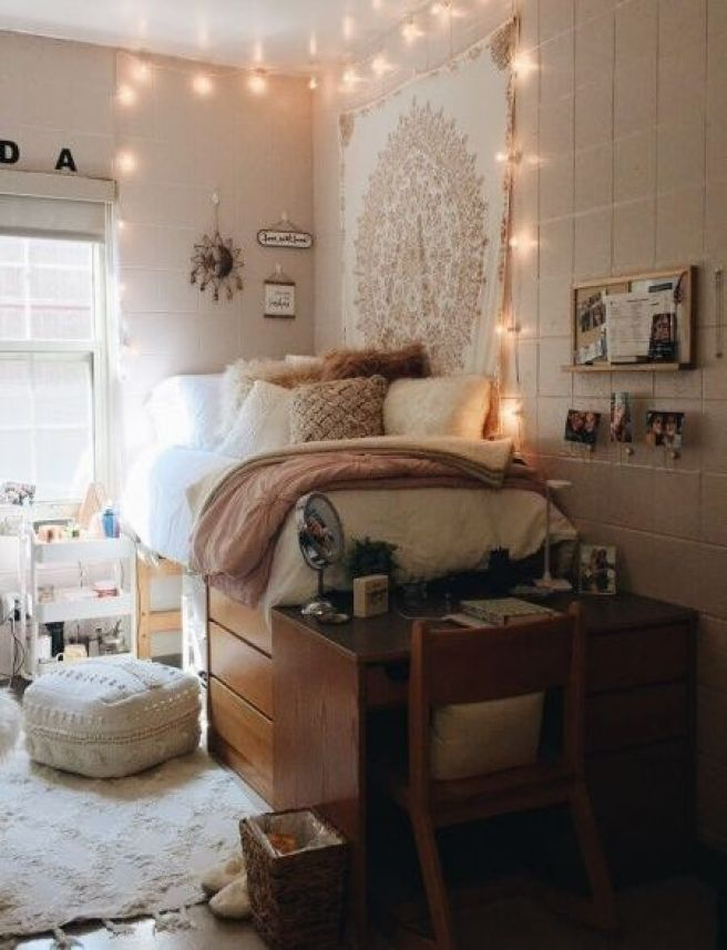 Small Dorm Room Ideas: 28 Super Cute Dorm Rooms To Get You Totally Psyched For