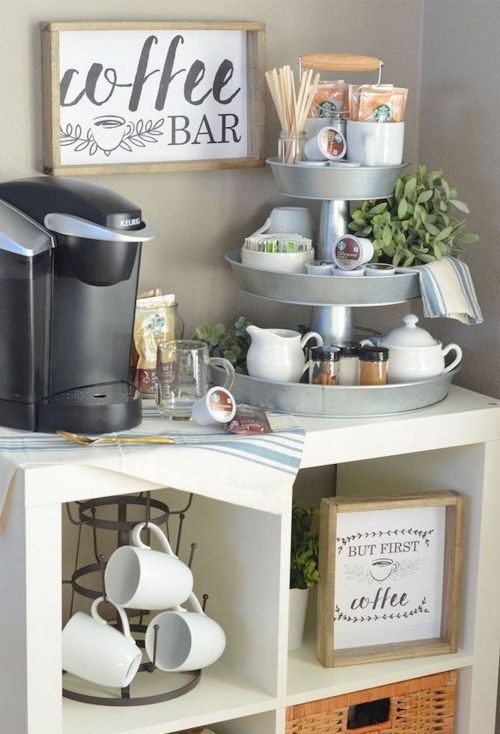 12 Diy Coffee Station Ideas For Your Dorm Or Apartment